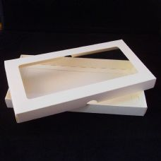DL Ivory Invitation Boxes With Aperture Lid